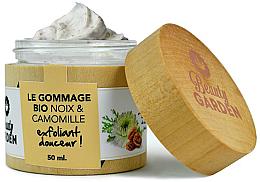 Parfumuri și produse cosmetice Scrub cu extract de romaniță și de nuci pentru față - Beauty Garden Noix & Camomille Face Scrub