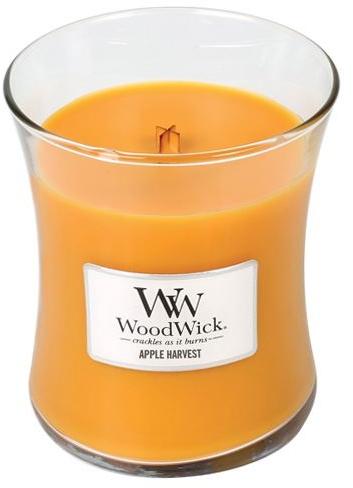 Lumânare aromată în suport de sticlă - WoodWick Apple Harvest Candle — Imagine N1