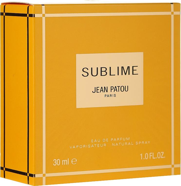 Jean Patou Sublime - Apă de parfum — Imagine N1