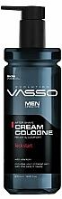Parfumuri și produse cosmetice Cremă-apă de colonie după ras - Vasso Professional Men After Shave Cream Cologne Kick Start