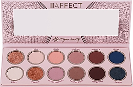 Parfumuri și produse cosmetice Paletă farduri de ochi - Affect Cosmetics Sweet Harmony