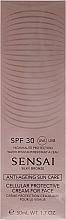 Parfumuri și produse cosmetice Cremă cu protecție solară SPF30 pentru față - Kanebo Sensai Cellular Protective Cream For Face