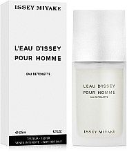 Issey Miyake Leau Dissey Pour Homme - Apă de toaletă (tester cu capac) — Imagine N2