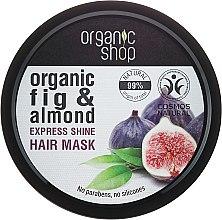 """Parfumuri și produse cosmetice Mască de păr """"Smochine grecești"""" - Organic Shop Organic Fig Tree and Almond Hair Mask"""