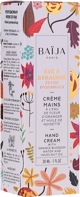 Cremă pentru mâini - Baija Ete A Syracuse Hand Cream — Imagine N2