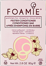 Parfumuri și produse cosmetice Balsam solid de păr - Foamie Hibiskiss Conditioner Bar