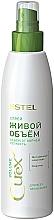 """Parfumuri și produse cosmetice Spray pentru toate tipurile de păr """"Volum live"""" - Estel Professional Curex Volume Spray"""