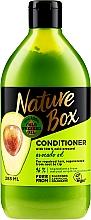 Parfumuri și produse cosmetice Balsam cu ulei de avocado pentru păr - Nature Box Avocado Oil Conditioner