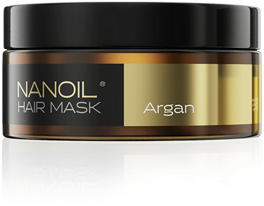 Mască pe bază de ulei de argan pentru păr - Nanoil Argan Hair Mask