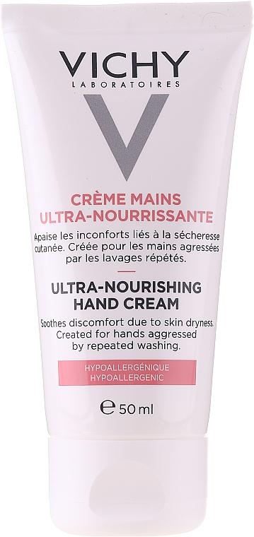 Cremă hidratantă de mâini - Vichy Ultra-Nourishing Hand Cream — Imagine N1