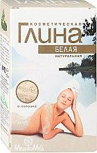 Parfumuri și produse cosmetice Argilă albă pentru corp - MedikoMed