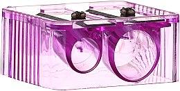 Parfumuri și produse cosmetice Ascuțitoare pentru creioane, 4109, violet deschis - Donegal Sharpener Pencil