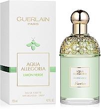 Guerlain Aqua Allegoria Limon Verde - Apă de toaletă — Imagine N2