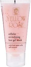 Parfumuri și produse cosmetice Mască-gel tonifiantă cu celule stem (tub) - Yellow Rose Cellular Revitalizing Gel Mask