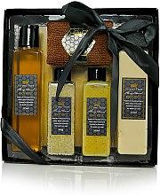 Parfumuri și produse cosmetice Set - Beeing True (sh/gel 175ml +sh/balm 175ml + salf 100ml + peel/100ml+prosop)