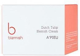 Cremă pentru ten problematic - A'pieu Dutch Tulip Blemish Cream — Imagine N2