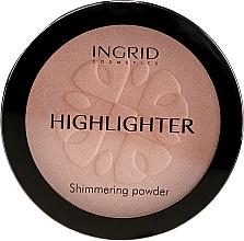 Parfumuri și produse cosmetice Pudră compactă iluminatoare - Ingrid Cosmetics HD Beauty Innovation Shimmer Powder