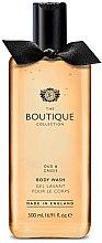 """Parfumuri și produse cosmetice Gel de duș """"Oud și coacăză neagră"""" - Grace Cole Boutique Oud & Cassis Body Wash"""