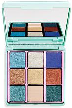 Parfumuri și produse cosmetice Paleta fard de ochi - I Heart Revolution Glitter Palette