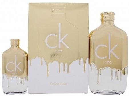 Calvin Klein CK One Gold - Set (edt/200ml + edt/50ml) — Imagine N1