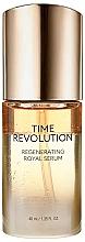 Parfumuri și produse cosmetice Ser regenerant pentru față - Missha Time Revolution Regenerating Royal Serum