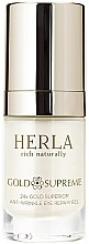 Parfumuri și produse cosmetice Gel pentru ochi - Herla Gold Supreme 24K Gold Superior Anti-Wrinkle Eye Repair Gel