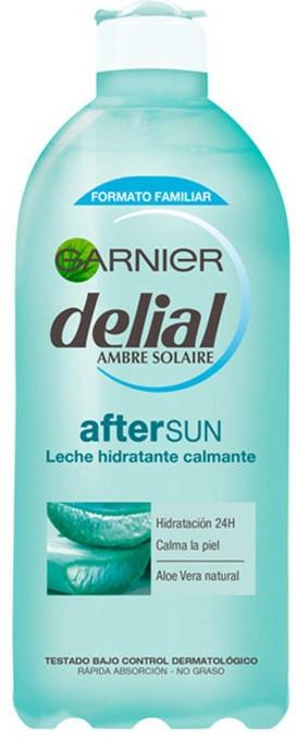 Lapte hidratant cu aloe vera, după plajă - Garnier Delial Ambre Solaire After Sun Soothing Hydrating Milk With Aloe Vera — Imagine N1