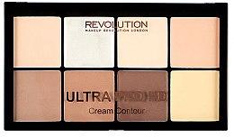 Parfumuri și produse cosmetice Set pentru conturul feței - Makeup Revolution HD Pro Cream Contour