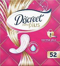 Parfumuri și produse cosmetice Absorbante de zi  Normal Plus, 52 buc - Discreet Zone Plus