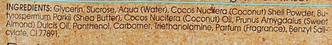 Peeling cu ulei de cocos pentru corp - Bielenda Coconut Oil Moisturizing Peeling — Imagine N3