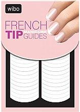 Parfumuri și produse cosmetice Șabloane pentru manichiura french - Wibo French Manicure Tip Guides