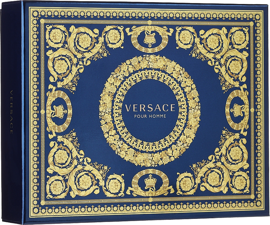 Versace Pour Homme - Set (edt/50ml + sh/g/50ml + ash/balm/50ml) — Imagine N1