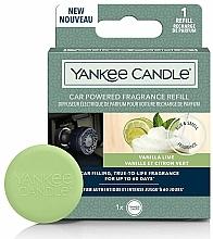 Parfumuri și produse cosmetice Aromatizator auto - Yankee Candle Car Powered Fragrance Refill Vanilla Lime (rezervă)