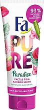 """Parfumuri și produse cosmetice Gel de duș """"Cactus și Bambus"""" - Fa Pure Paradise Shower Gel Cactus & Bamboo"""