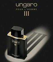 Ungaro Pour L'Homme III Gold & Bold Limited Edition - Apă de toaletă — Imagine N2