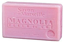 """Parfumuri și produse cosmetice Săpun natural """"Magnolia și flori de ceai"""" - Le Chatelard 1802 Soap Magnolia and Tea Flowers"""