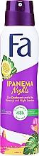 """Parfumuri și produse cosmetice Deodorant-Spray """"Ritmurile Braziliei"""" - Fa Ipanema Nights Deo Spray"""
