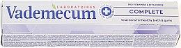Parfumuri și produse cosmetice Pastă de dinți nutritivă - Vademecum ProVitamin Complex Complete Toothpaste