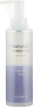 Parfumuri și produse cosmetice Ulei hidrofil de curățare profundă - The Saem Natural Condition Cleansing Oil Deep Clean