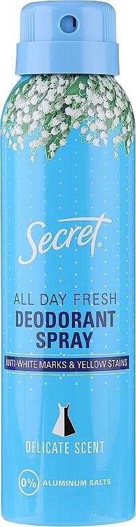 "Deodorant spray ""Delicat"" - Secret Key Delicate Deodorant Spray — Imagine N1"