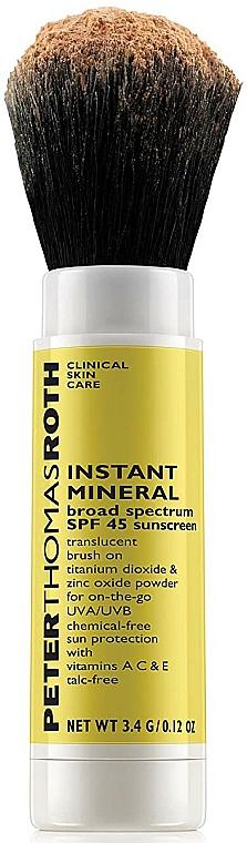 Pudră micelară de față - Peter Thomas Roth Instant Mineral Powder SPF45 — Imagine N3