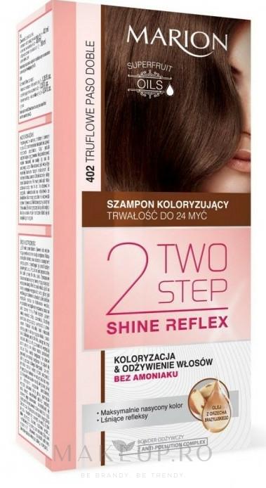 Șampon fără amoniac pentru păr vopsit - Marion Two-Step Shine Reflex Color Shampoo — Imagine 402