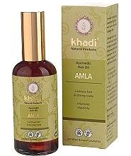 "Parfumuri și produse cosmetice Ulei de păr ""Amla"" - Khadi Hair Oil"