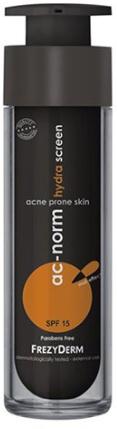 Cremă protecție solară pentru pielea predispusă la acnee - Frezyderm Ac-Norm Hydra Screen SPF15 — Imagine N1