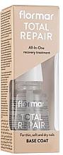 Parfumuri și produse cosmetice Remediu revitalizant pentru unghii - Flormar Total Repair Base Coat