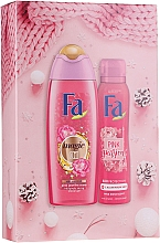 Parfumuri și produse cosmetice Set - Fa Pink Passion (sh/gel/250ml + deo/spray/150ml)