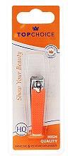 Parfumuri și produse cosmetice Foarfece pentru unghii 76947, neon, orange - Top Choice Colours Nail Clippers
