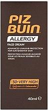 Parfumuri și produse cosmetice Cremă pentru față, cu protecție solară - Piz Buin Allergy Face Cream SPF50