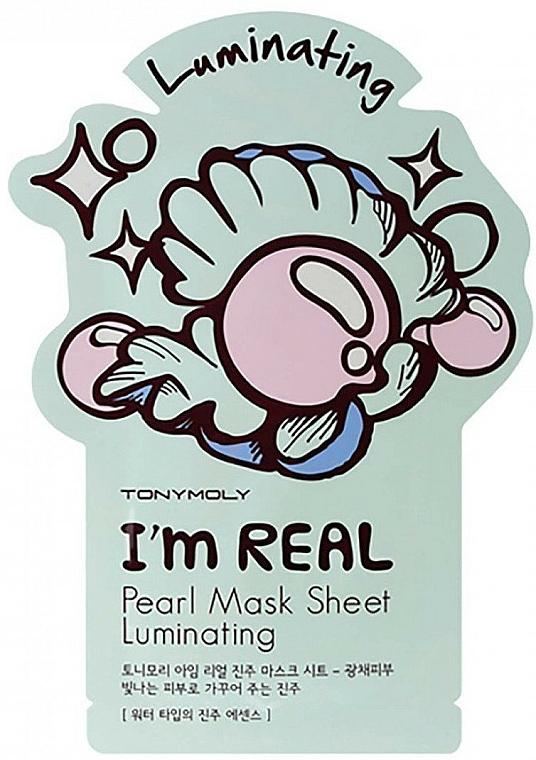 Mască de țesut cu extract de perle - Tony Moly I Am Pearl Sheet Mask