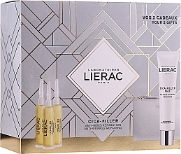 Parfumuri și produse cosmetice Set - Lierac Cica-Filler (serum/30ml + cr/gel/40ml + bag)